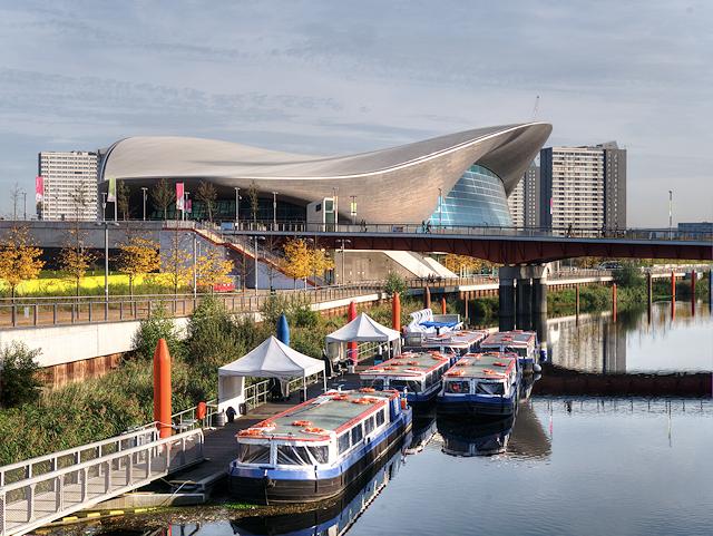 Waterworks River and London Aquatics Centre London Newham Geograph David Dixon