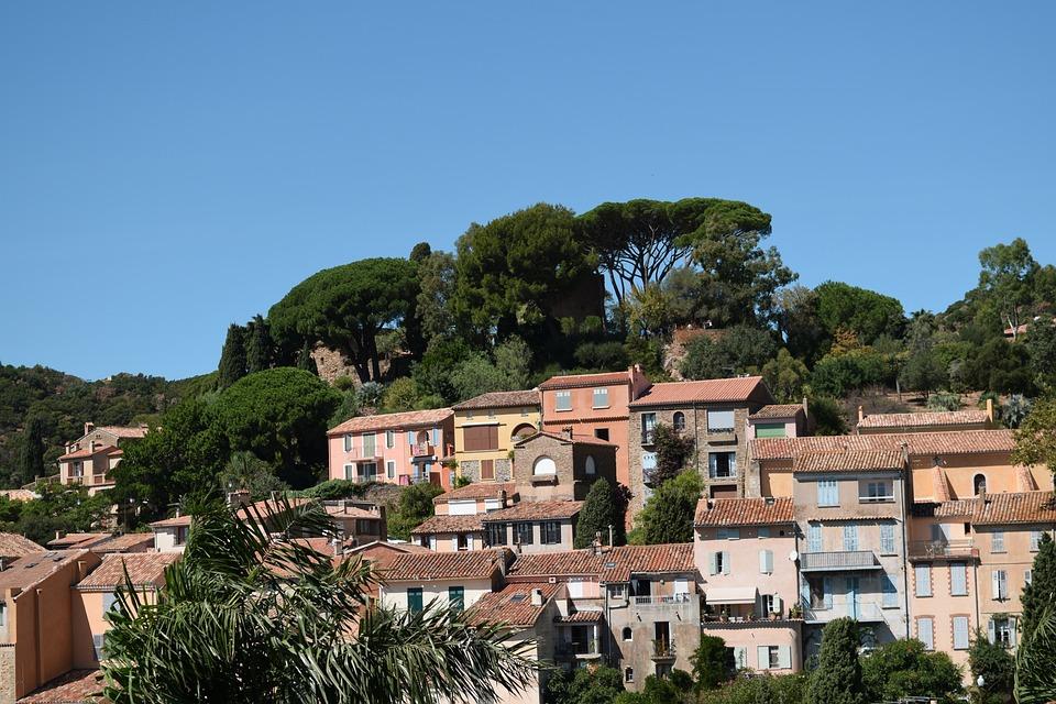 France, Village Provencal, South, Sun