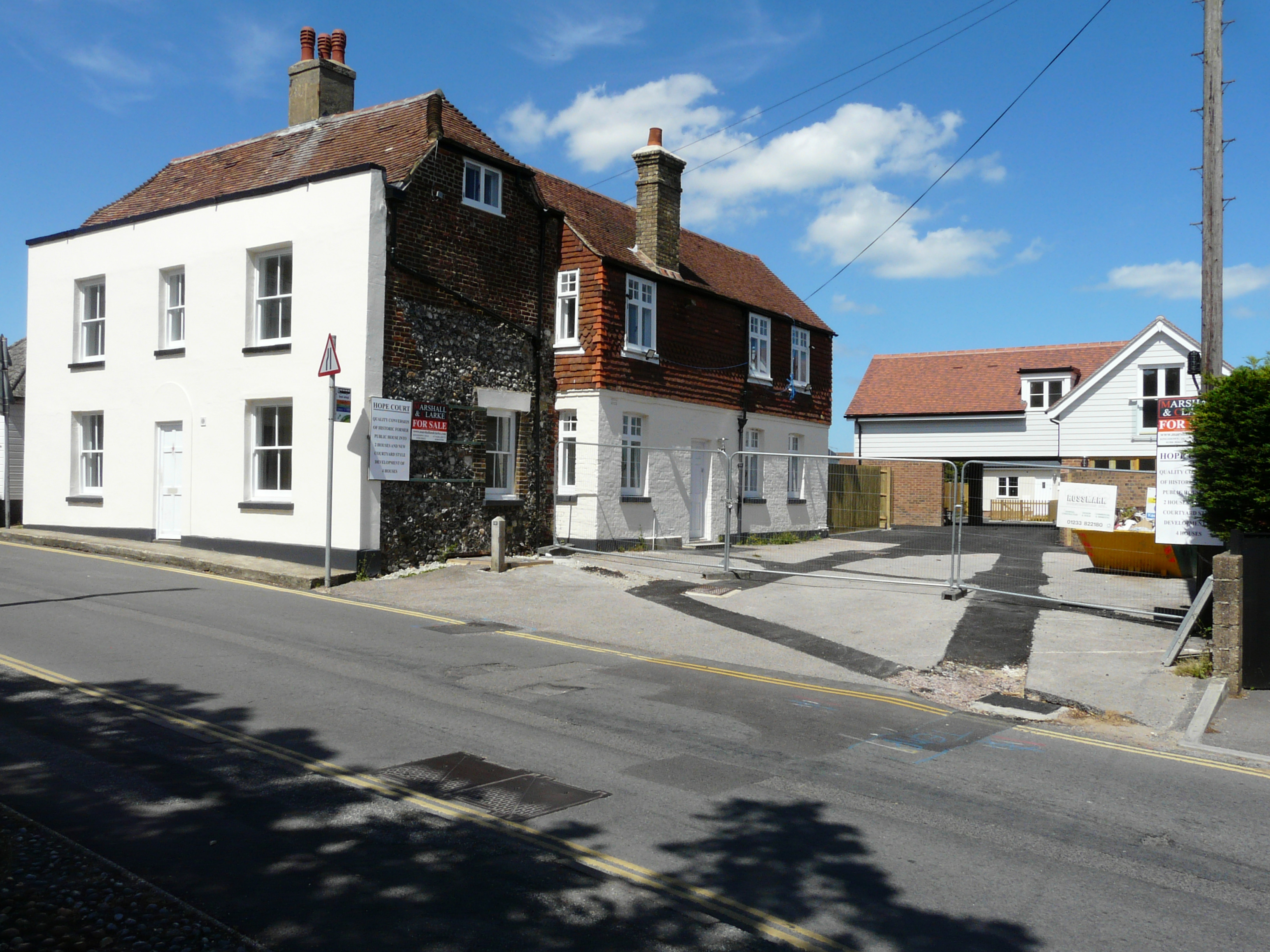 Hope Court, High Street, Cliffe, Kent Courtesy of John Baker Geograph