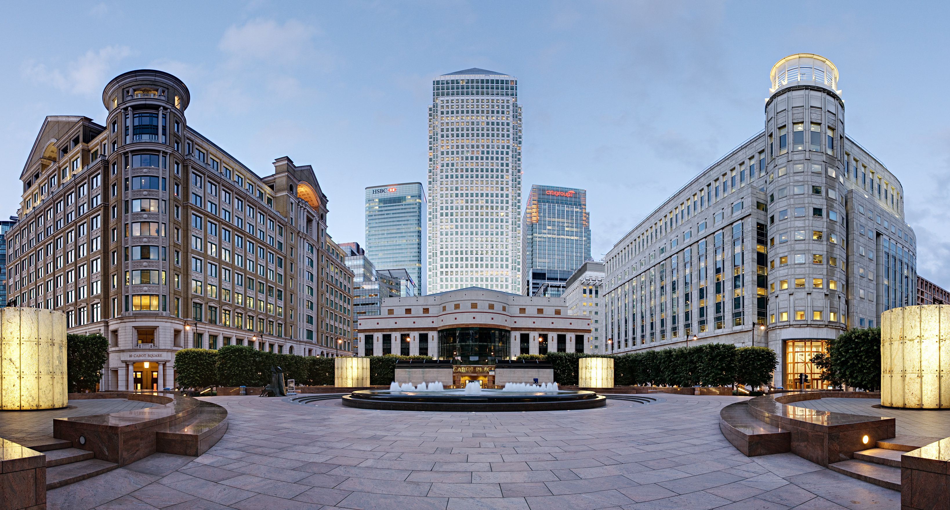 Cabot Square Canary Wharf London